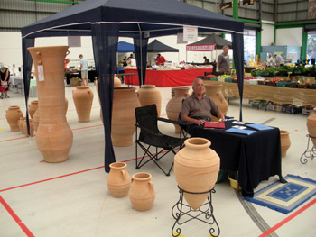 Grecian Urns at South Sydney Markets