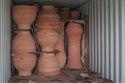 The Grecian urns arrive in Australia