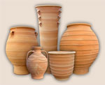 Greek Pots from Thrapsano, Crete