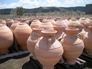 Grecian Urns in Fitzgeralds Valley, NSW