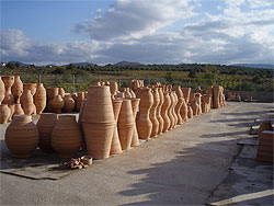 Cretan pots ready to go!